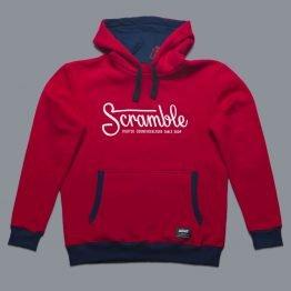 Scramble Letterlogo Hoody - Red