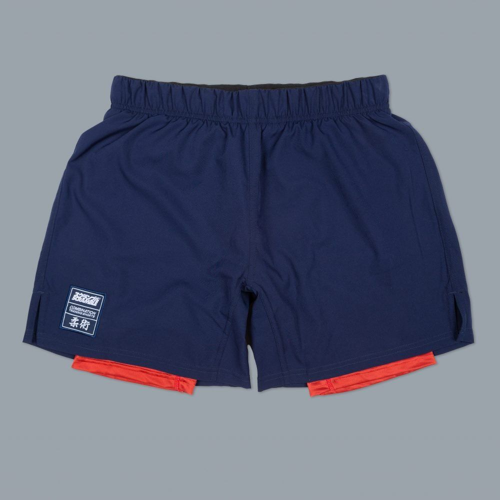 Scramble Combination Shorts - Navy/Red