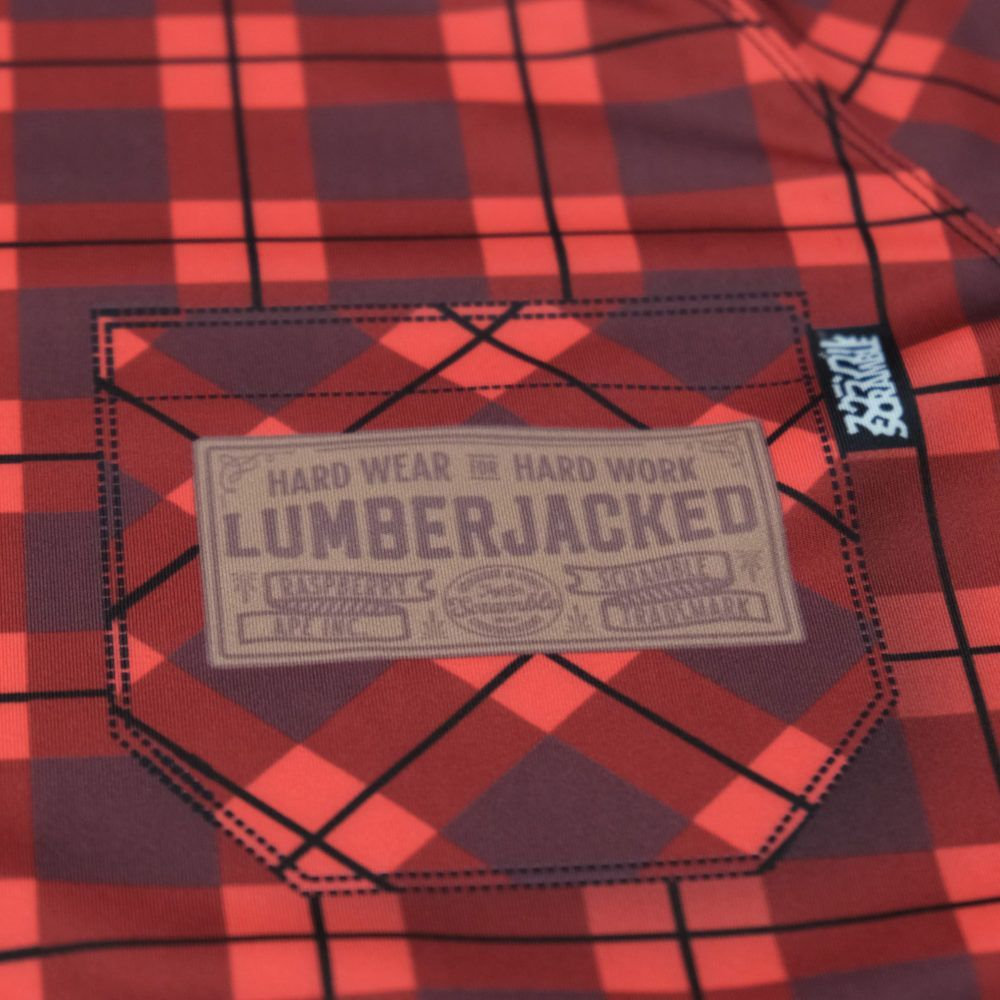 Scramble Lumberjacked Rashguard