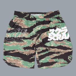 Scramble Base Shorts - Tiger Camo