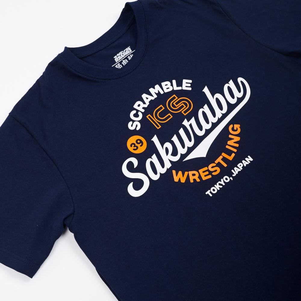 KS x Scramble Wrestling Tee - Navy