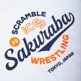 KS x Scramble Wrestling Tee - White