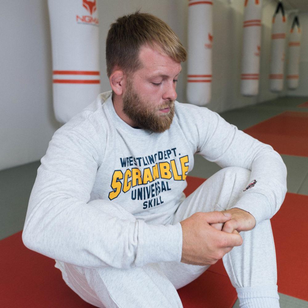 Scramble Collegiate Wrestling Joggers - Freshman Grey