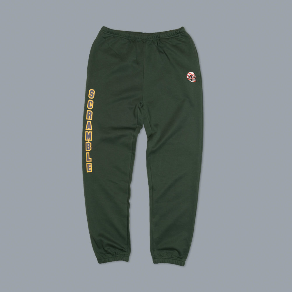 Scramble Collegiate Wrestling Joggers - Sporting Green