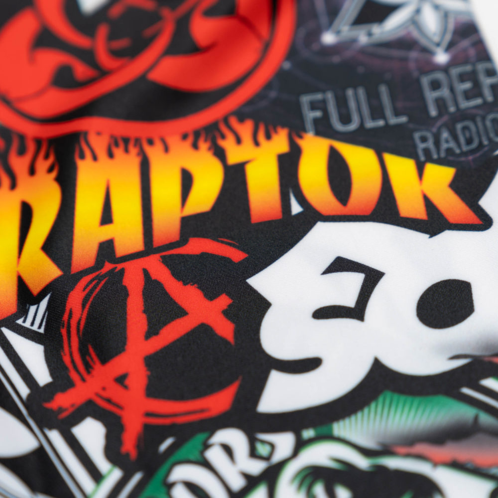 "Scramble x Full Reptile Collective ""L228"" Spats"