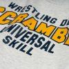 Scramble Collegiate Wrestling Sweatshirt - Freshman Grey