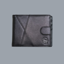 Scramble Embossed Leather Wallet