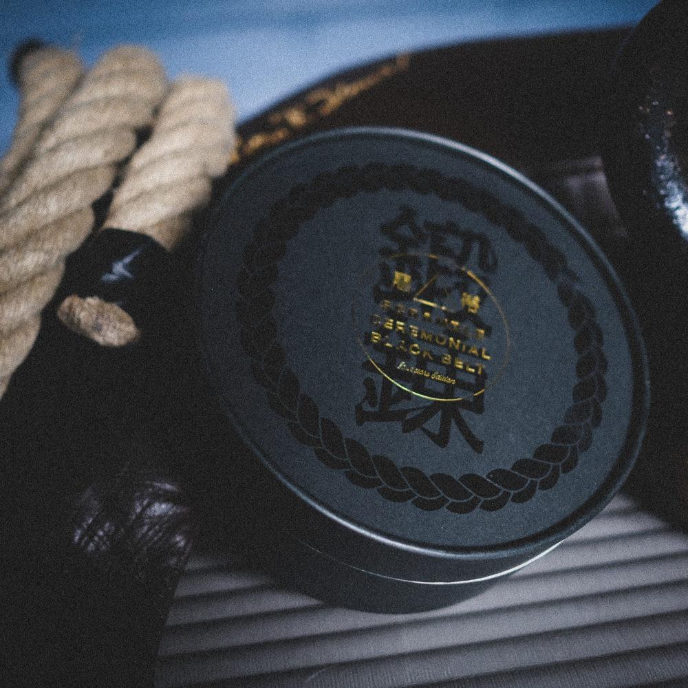 Scramble Ceremonial Black Belt