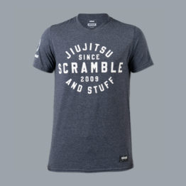 Scramble Jiu Jitsu and Stuff Type Tee - Navy