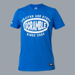 Scramble Jiu Jitsu and Stuff Surf Tee - Blue