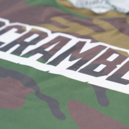 Scramble Tactic Rashguard - Woodland Camo